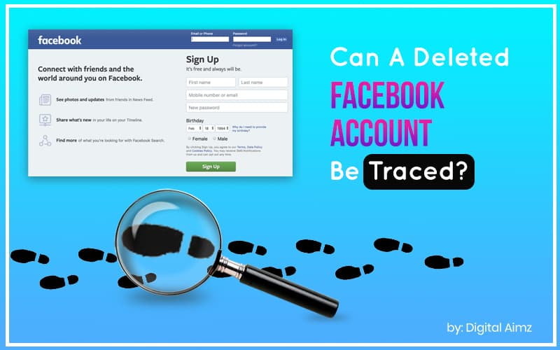 Can a Deleted Facebook Account be Traced