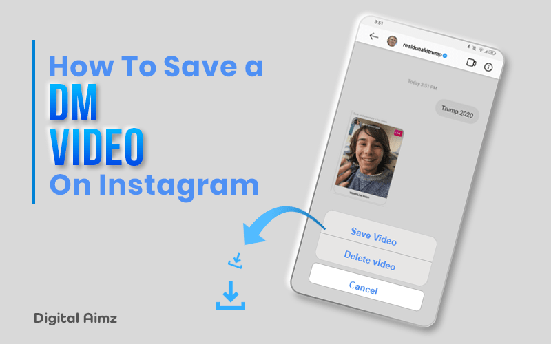 How to Save a DM Video on Instagram