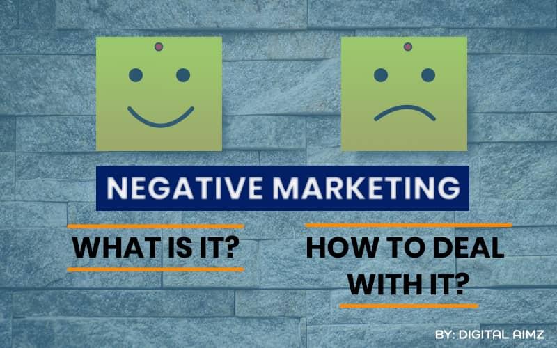 Negative Marketing